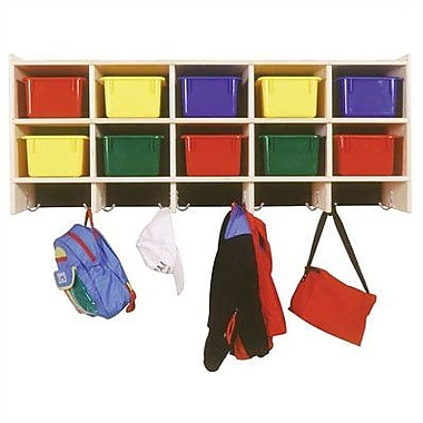 Steffy 10 Compartment Cubby; Multi-Colored (assorted)