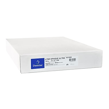 Domtar Lynx™ Opaque Ultra Smooth Text Paper, 23