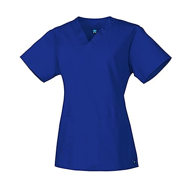 Core 1016 2-Pocket V-Neck Top, Royal, Regular XL