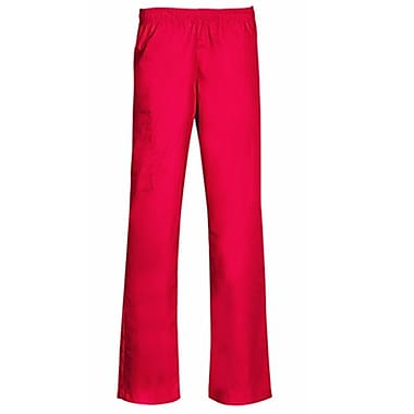Core 9016 Full Elastic Cargo Pant, Red, Regular XS