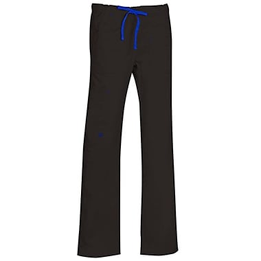 Blossom 9202 Multi-Pocket Utility Cargo Pant, Black, Regular XS