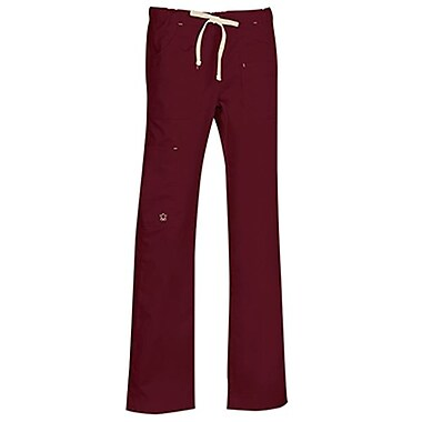 Blossom 9202 Multi-Pocket Utility Cargo Pant, Wine, Regular 2XL