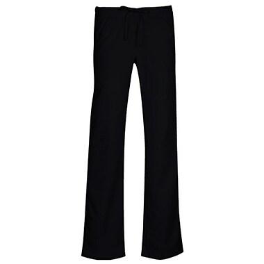 Pantalon cargo élastique mode à jambe semi-évasée et à lacet de serrage Gravity 9103, noir, standard TP
