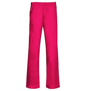 Core 9016 Full Elastic Cargo Pant, Hot Pink, Regular S