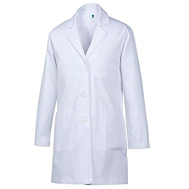 Labcoat 7551 Unisex Lab Coat, White, Regular S