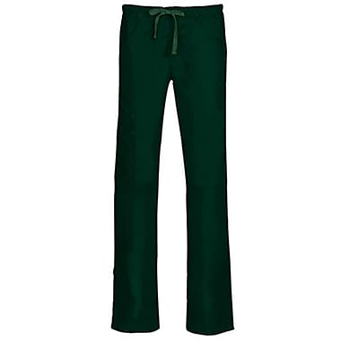Blossom 9302P Triple Pintuck Multi-Pocket Utility Pant, Hunter, Petite L