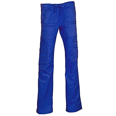 Blossom 9602P Multi-Pocket Utility Cargo Pant, Royal, Petite XL
