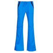 Maevn Empress 7102P Multi-Pocket Fashion Flare Pants with Contrast, Malibu Blue