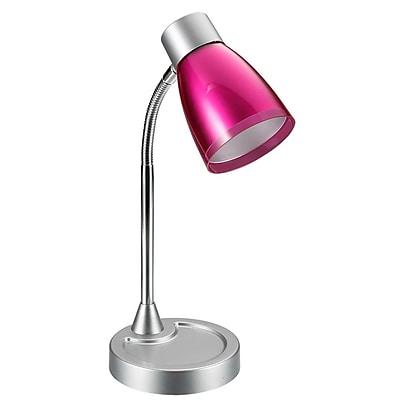 All the Rages Limelights LD2003-PNK Gooseneck LED Desk Lamp, Pink