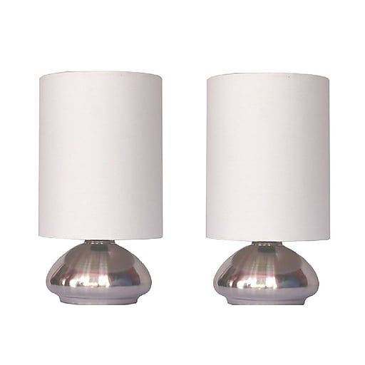 All the rages simple designs lt2016 ivy 2pk touch lamp shade 2 pack httpsstaples 3ps7is aloadofball Image collections