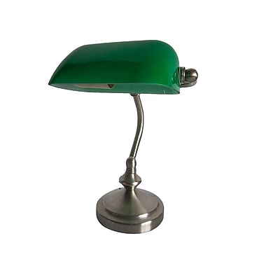 All the Rages – Lampe de banquier, collection Simple Designs, vert (LT3057-GRN)