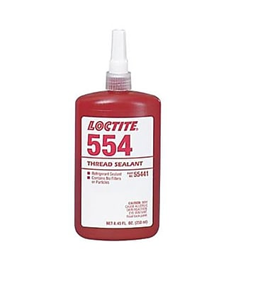 Loctite® 554™ Red Refrigerant Thread Sealant, 10 ml Bottle