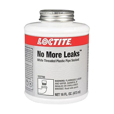 Loctite® White No More Leaks™ Threaded Plastic Pipe Sealant, 16 oz. Can