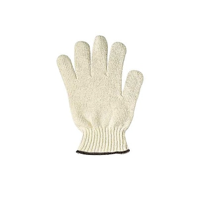 Ansell® Tri-Grip® MultiKnit™ Cotton Lined Heavyweight Knitted Uncoated Gloves, White/Blue, Size 7