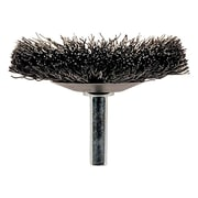 "PFERD Advance Brush 3"" Stem Mounted Bevel Brush"