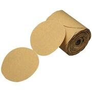 """3M™ 216U 5"""" Stikit Paper Disc Roll, Gold, 175/Roll"""