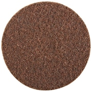 "3M™ Scotch-Brite™ 8"" Hook and Loop Disc, Brown, 25/Case"