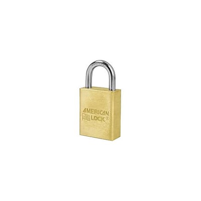 American Lock® 5-Pin Keyed Different Tumbler Padlock