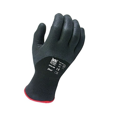 Showa Best Glove® Zorb-IT® Nylon Coated Gloves, Black, Size Group 9