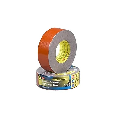 3M™ 48 mm x 41.1 m Outdoor Masking and Stucco Tape, Red
