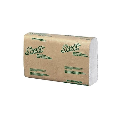 Kimberly-Clark Professional® Scott® C-Fold Hand Towel, White