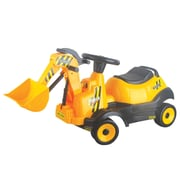 Vroom Rider 6V Ride-on 4-Wheel Bulldozer Battery Powered Construction Vehicle