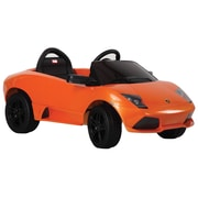 Vroom Rider Lamborghini Murci lago LP 640-4 Rastar 6V Battery Powered Car; Orange