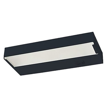 NICOR Lighting 30'' Xenon Under Cabinet Bar Light; Black
