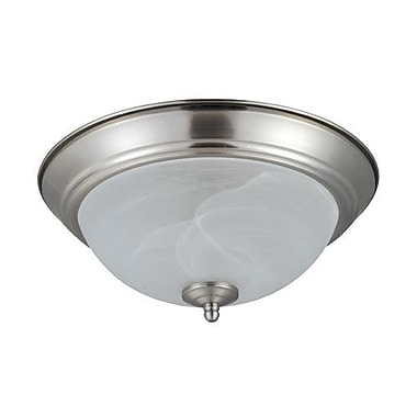 NICOR Lighting 2-Light Flush Mount