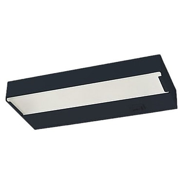 NICOR Lighting 12.5'' Xenon Under Cabinet Bar Light; Black