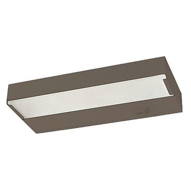NICOR Lighting 8'' Xenon Under Cabinet Bar Light; Bronze