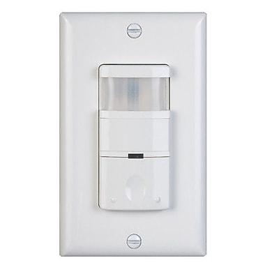 NICOR Lighting 120 - 277V 180D Occupancy Sensor; Ivory