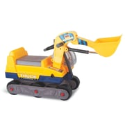 Vroom Rider Ride-on 6-Wheel Bulldozer Construction Vehicle