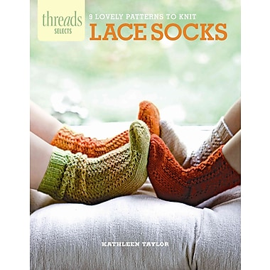 Lace Socks: 9 lovely patterns to knit (Threads Selects)