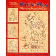 14436 BK Work & Play Redwork Throught the Day Embroidery Book by Lakadaisies