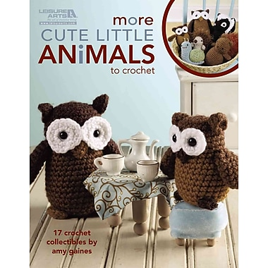 More Cute Little Animals to Crochet (Leisure Arts #5125)