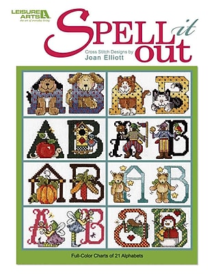 Spell It Out (Leisure Arts #4823)