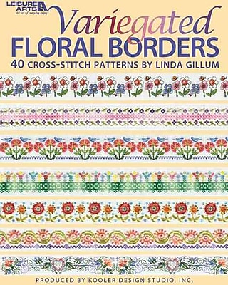 Variegated Floral Borders (Leisure Arts #4617)