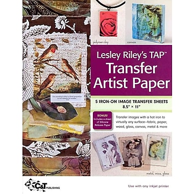 Blueprint tranfer paper white daftar harga terlengkap indonesia lesley rileys tap transfer artist paper 5 sheet pack 5 iron on image malvernweather Choice Image