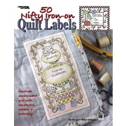 50 Nifty Iron-On Quilt Labels (Leisure Arts #3466)