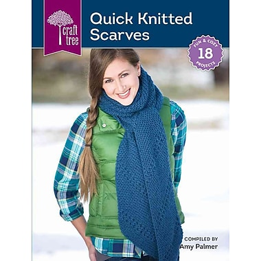 Craft Tree Quick Knitted Scarves