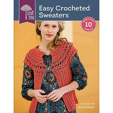 Craft Tree Easy Crocheted Sweaters