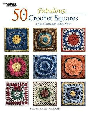 50 Fabulous Crochet Squares (Leisure Arts #4420)