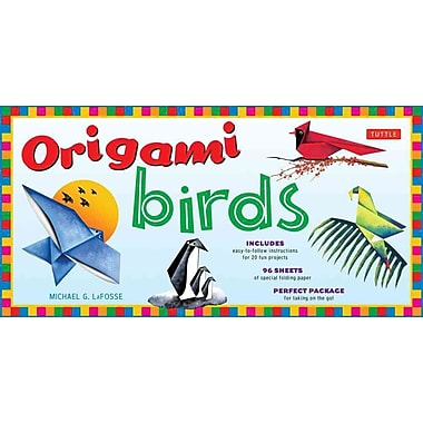 Origami Birds Kit: [Boxed Kit with 98 Folding Papers & 2 Full-Color Booklets]