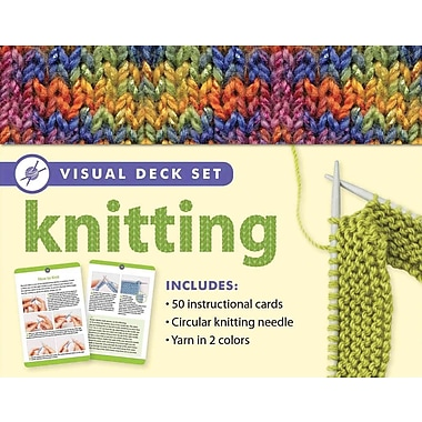 Knitting: Visual Deck Set (Visual Deck Plus)