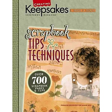 Scrapbook Tips & Techniques : Over 700 Scraptbook Pages & Tips (Leisure Arts)