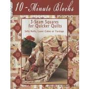 14125 BK 10 Minute Blocks Quilt Book by Suzanne McNeill of Design Originals