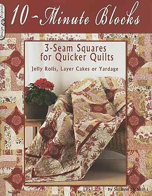 14125 BK 10 Minute Blocks Quilt Book by Suzanne McNeill of Design Originals
