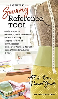 Essential Sewing Reference Tool: All-in-One Visual Guide