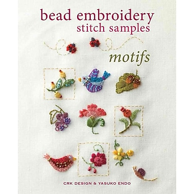 Bead Embroidery Stitch Samples - Motifs